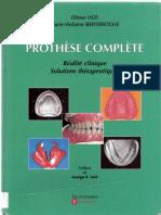 Prothèse Complète Réalité Clinique Solutions Thérapeutiques Olivier