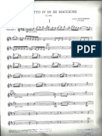 Fandango Boccherini Violin I