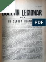 Buletin Legionar nr. 6, 8-10 iunie 1937