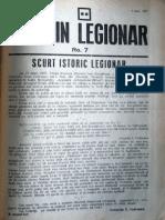 Buletin Legionar nr. 7, 1 iulie 1937