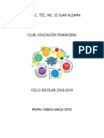 Programa Club Educ. Financiera