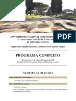 Snec 2018 - Programa Completo