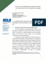 Memorial Proyecto del Senado de Puerto Rico #950 para regular el aborto
