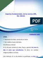 Presentación Resumen Sobre Normas APA