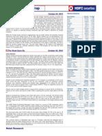 HDFC Securities Weekly Market Wrap 041010