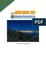 04 - Memoria Anual 2017 Electro Puno