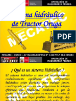 Sistema Hidráulico Tractor Oruga