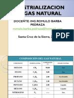 Industrializacion Del Gas Natural(Udabol)
