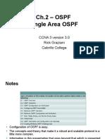 Single Area OSPF Slides