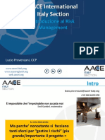 2018 05 25 - Provenzani - Intro to Risk Management