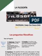 Filosofia - Sesion 1