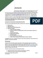 Framework for Calgary Dockless Bike Share Permit