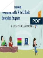 Revisiting Classroom Assesment in the K to 12.ppt