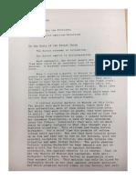 President Nixon Memo to President Bush