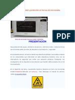 Circuitos de Seguridad y Protección en Hornos de Microondas