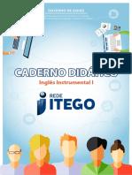 Caderno Didatico Ingles Instrumental I