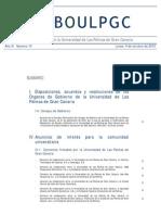 Boletín Oficial ULPGC 4 de Octubre de 2010