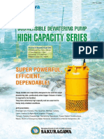 Sakuragawa U series pump