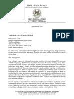 2018 09-04 Letter to Bishop Oscar Cantú