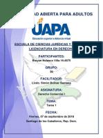 Tarea 1 Derecho Comercial I 07-09-2018