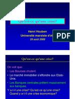 HOUBEN H-Cours Le Capitalisme en Crise-Aula 01