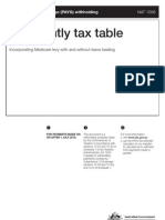 2010-11 PAYG - FN Tax Tables