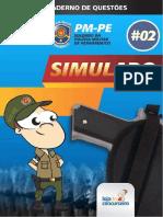 PM - PE - Simulado (Caderno de Questões)