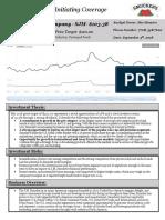 JM Smucker Company Research Report
