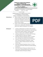 8.6.1.1 SK Memisahkan Alat Bersih Dan Kotor