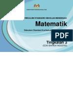 DSKP KSSM Mathematics Form 3