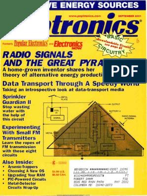 Signals: Radio AND Pyramid