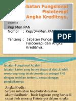Jabatan Fungsional Fisioterapi