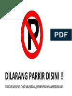 DILARANG PARKIR DISINI.docx