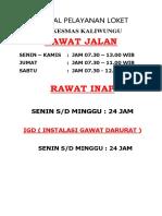 1.1.1.b Brosur, Flyer, Papan Pemberitahuan, Poster