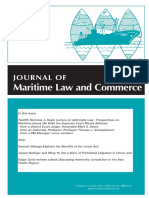 SAG Journal of Maritime Law