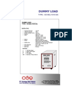 Brochure Dummy Load 110