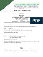 Contoh Surat Perjanjian Kerjasama Prakerin (1)
