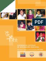 Experiencias Exitosas de Integración Educativa SEP