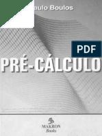 Livro - Pré-Cálculo - Paulo Boulos.pdf