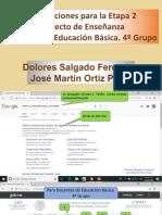 Proyecto de Enseñanza en la Plataforma. Docentes cuarto grupo.pptx