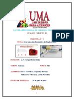 Informe Nº 3 Analisis Clinico II