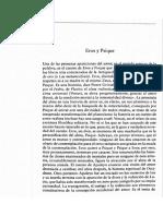 Eros y Psique, Octavio Paz