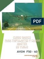 PESO Y BALANCE AVION FOKKER F-50.ppt