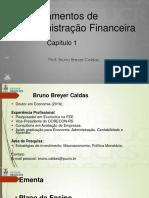 Cap 1 - Slides Ross - Introdução Às Finanças