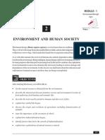2-Environment and Human Society