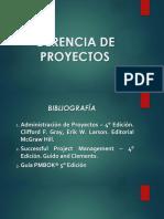 Introduccion a La Gerencia de Proyectos