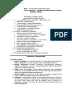Parasitologia Humana - Resumo Geral AV1 e AV3