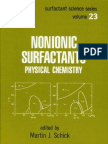 (23) Nonionic Surf Act Ants - Physical Chemistry
