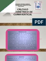 Cálculo Geométrico de Curva Vertical Nov.