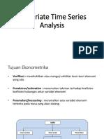 Univariate Time Series Analysis